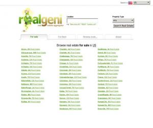 RealGeni Real Estate Search Engine