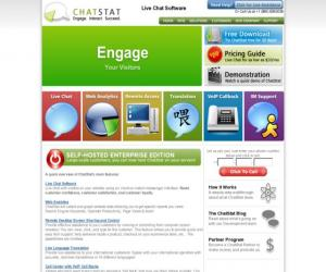 ChatStat Live Chat for Sales and CRM