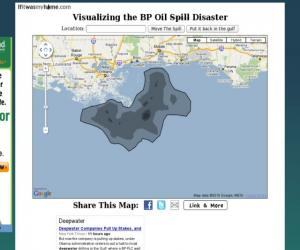 Visualizing the BP Oil Disaster