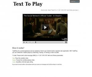 Text To Play