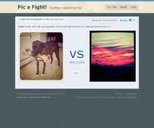 Pic A Fight!