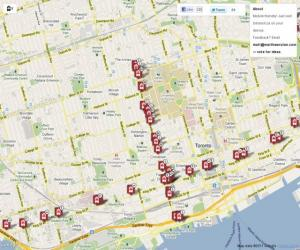 TOTransit - View TTC Streetcars Live on a Map