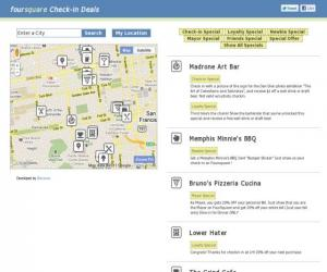 Foursquare Check-in Deals