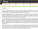 Xdrive Data Management