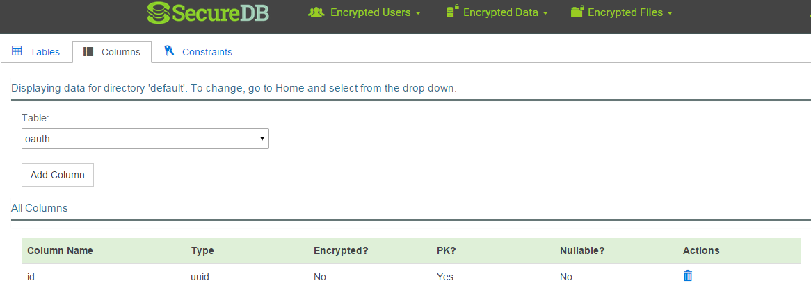 How to Encrypt OAuth Tokens in 10 minutes With SecureDB