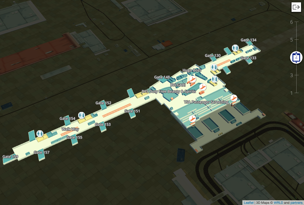 How to Build a 3D Airport Experience with the Wrld js SDK