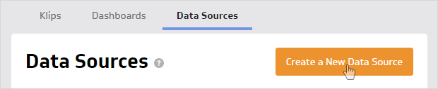 Create new data source