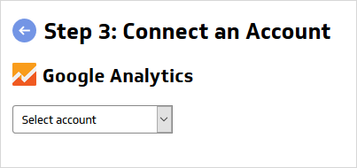 Google analytics oauth connector