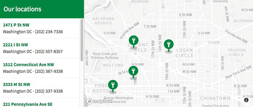 How to Build a Store Locator Using Mapbox GL JS