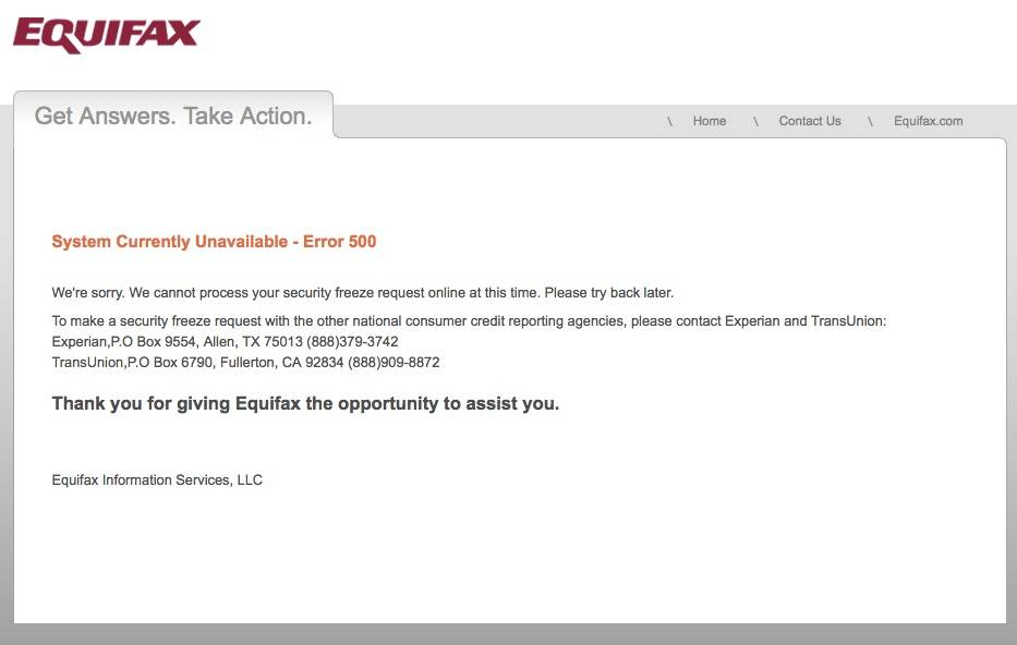 Class-action lawsuit filed against Equifax after massive data breach