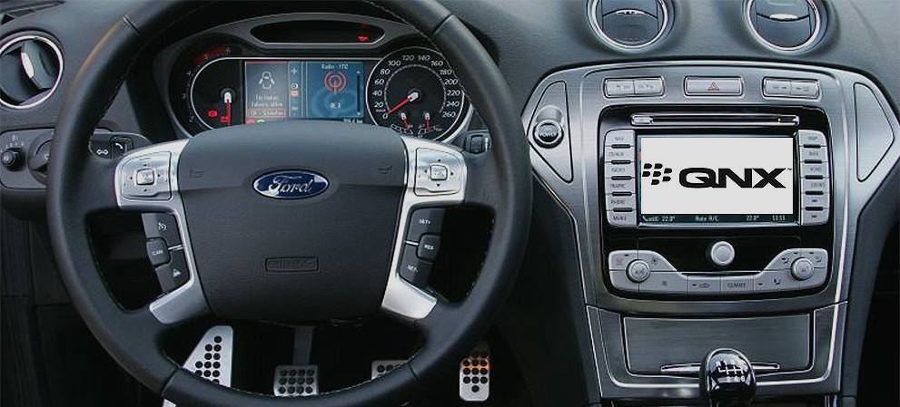 Ford Sync 3 Trades in Microsoft for Blackberry QNX