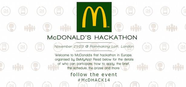 McDonald's Hackathon in Europe