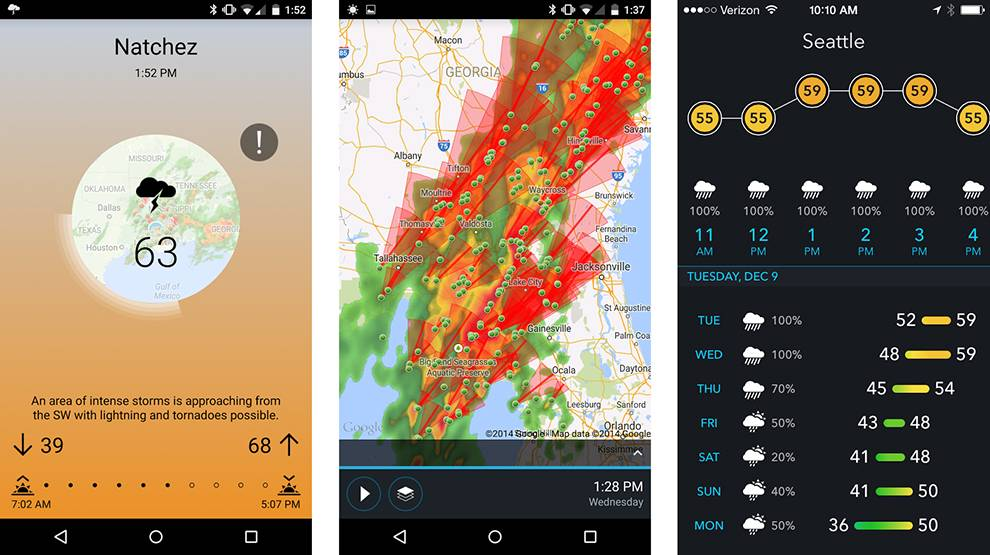 AerisWeather provides advanced geospatial search capabilities