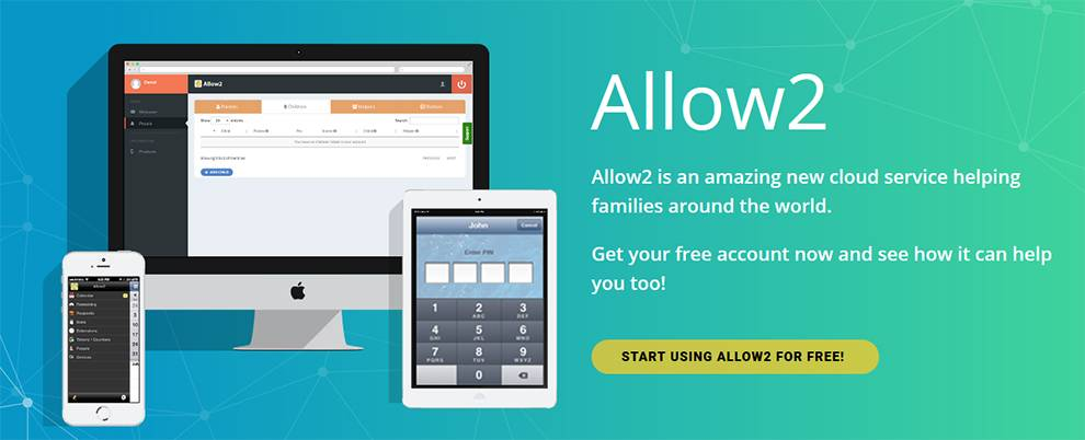 Allow2 parental control API