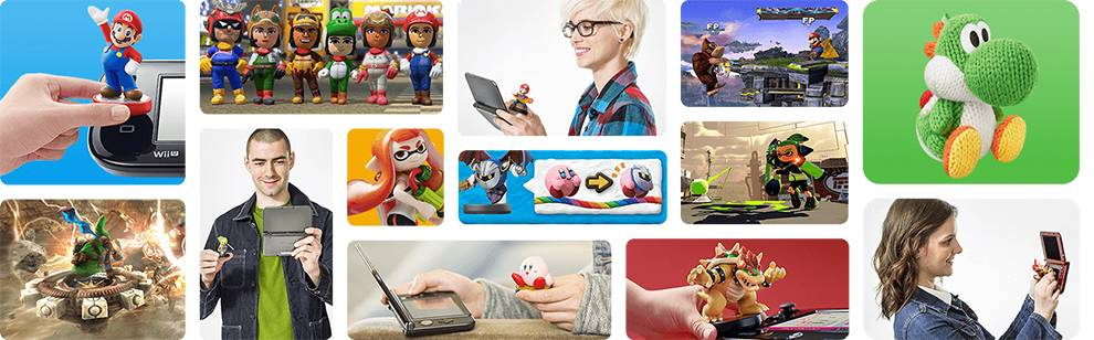 Amiibo characters from Nintendo can unlock game content and bonuses