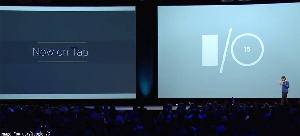 Google Now Director Arpana Chennapragada Announcing Now-On-Top