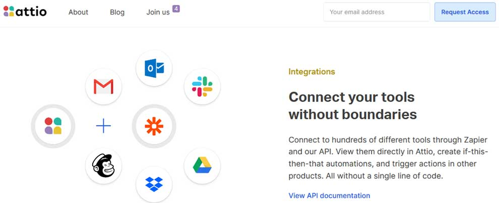 Attio API enables contacts integrations within teams