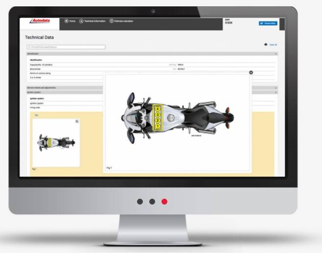 Access technical data about motorcycles with Autodata API