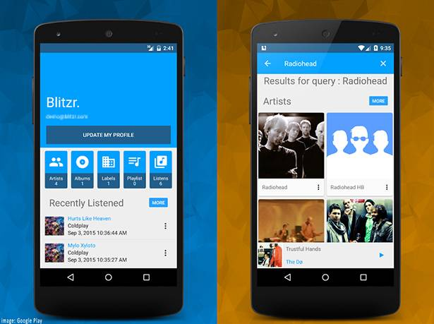 Blitzr API allows developers to access music recommendations