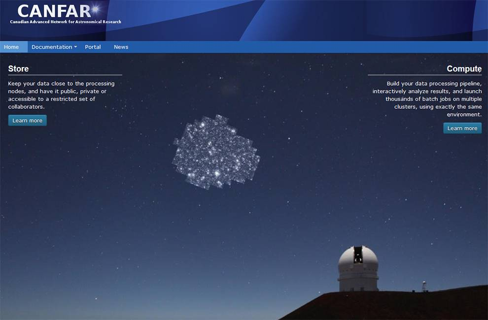 Share and retrieve astronomy with CANFAR APIs