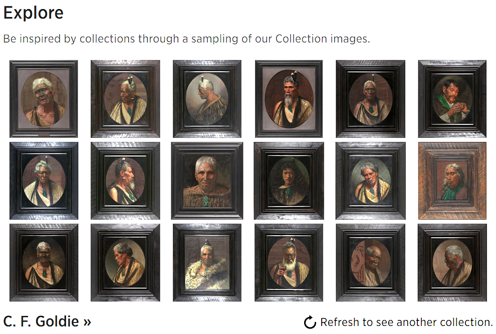 API gives access to data about collections in the Auckland Museum