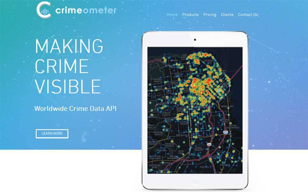 CrimeoMeter API is available