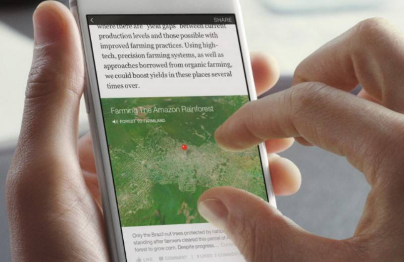 Facebook Instant Articles API available