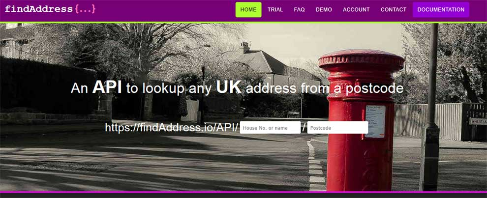 Find postcodes in the UK with this API