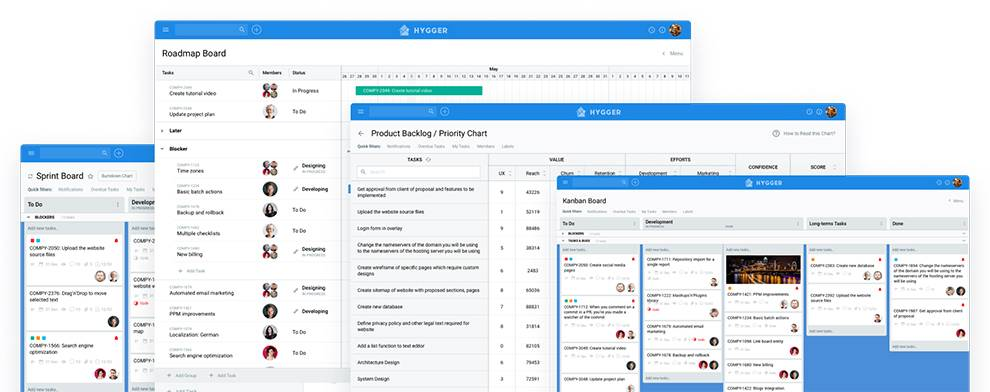 Hygger is an Aigle software development tool designed for product teams
