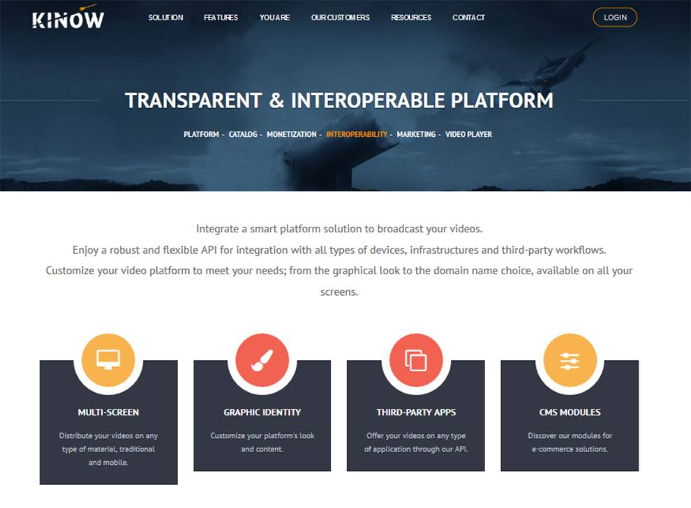 Engage your audience with Kinow video platform integration