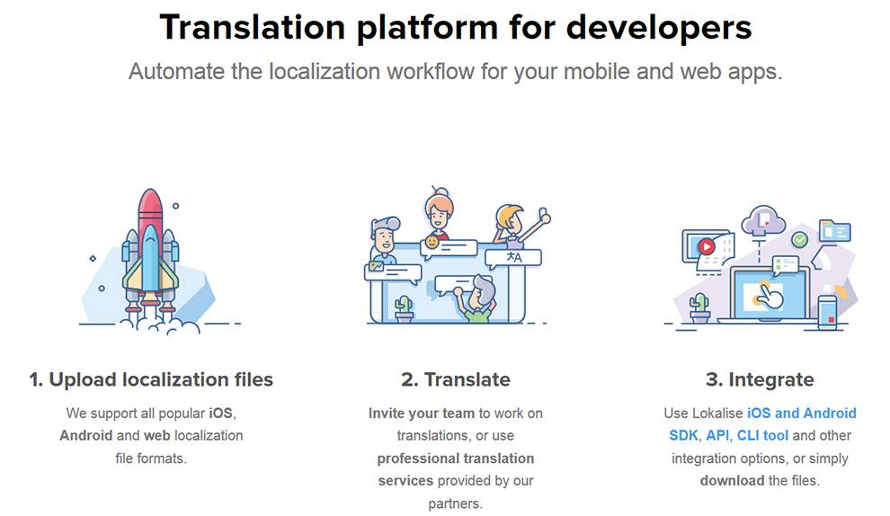 Lokalise helps developers serve clients in their native languages