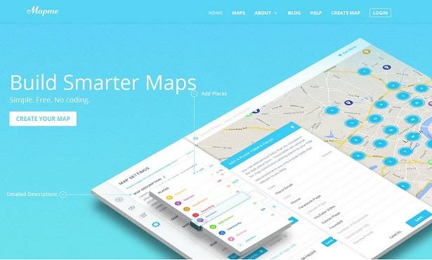 Build smarter maps with Mapme