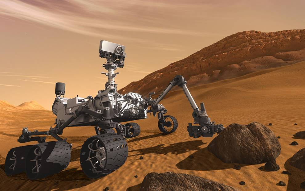 Access data from the Mars Science Laboratory mission's Curiosity rover via this API