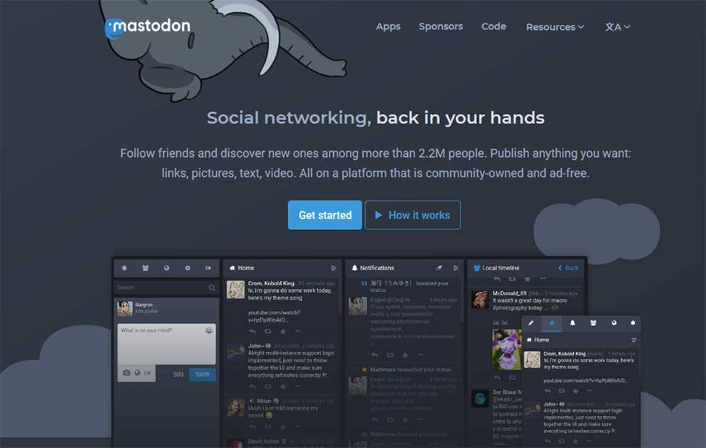 Search Engine Optimization (SEO) Mastodon is open-source social software with an API for integration