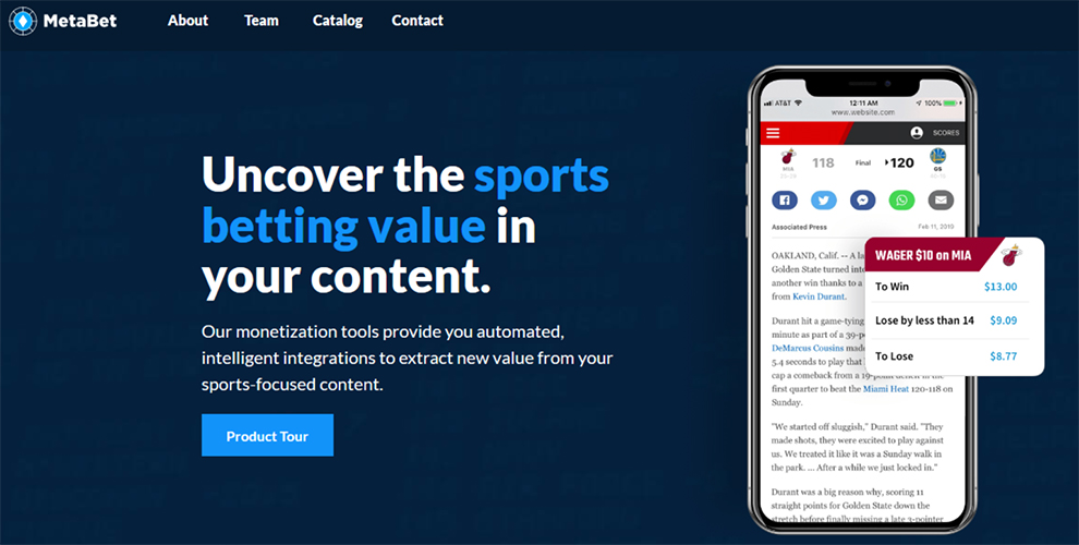 MetaBet API aggregates data from other betting APIs