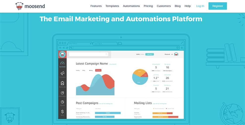Integrate with Moosend email marketing platform via REST API