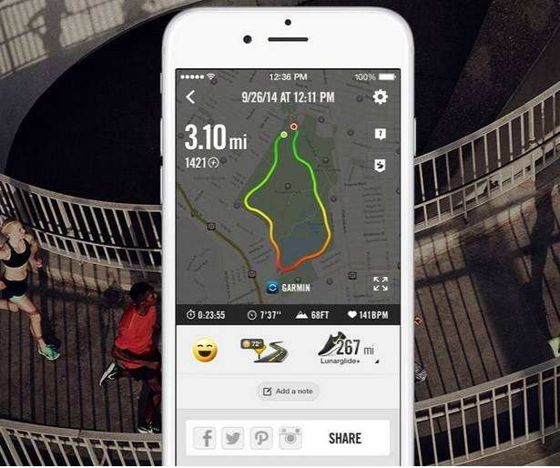 Nike+ Running App with API for integration