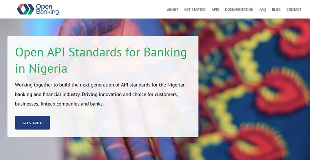 Open Banking Nigeria provides API for integration