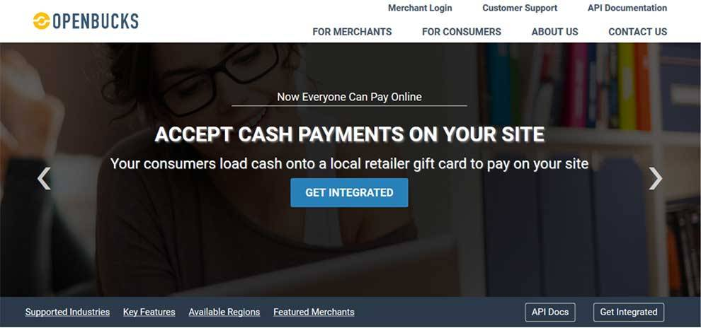 Openbucks API enables cash services for apps