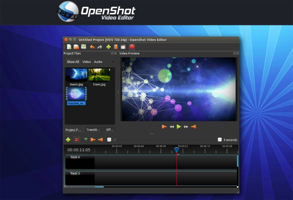 Programmatically interact with OpenShot video editing via this API