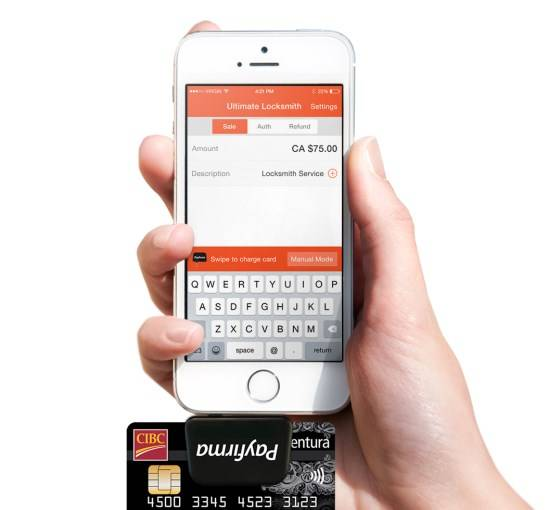 Payfirma mobile POS and API