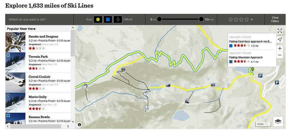 Get data about backcountry ski spots with Powder Project API