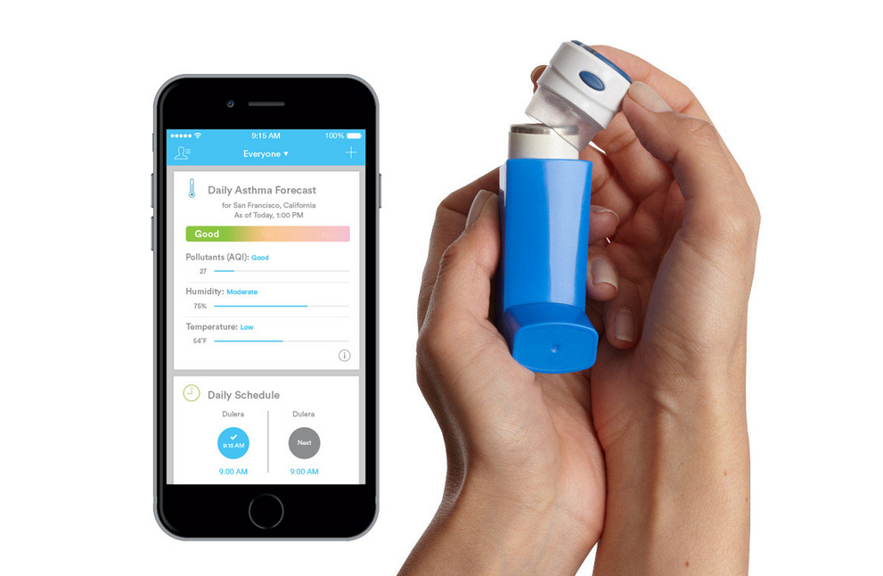 Air by Propeller is a suite of tools for determining asthma condition
