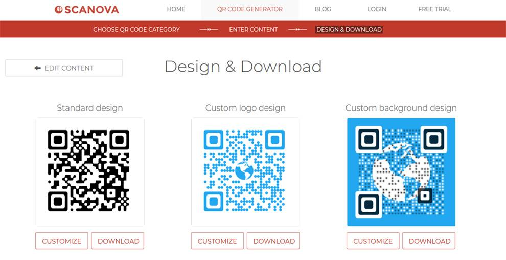 Create and manage custom QR codes with Scanova API