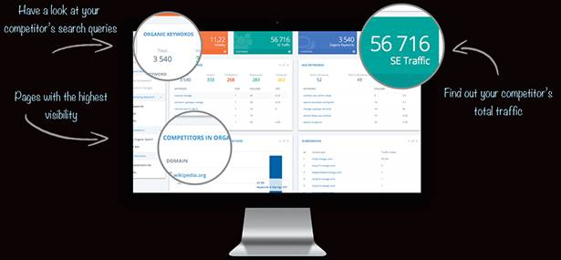 Serpstat API helps users get SEO insight from competitors