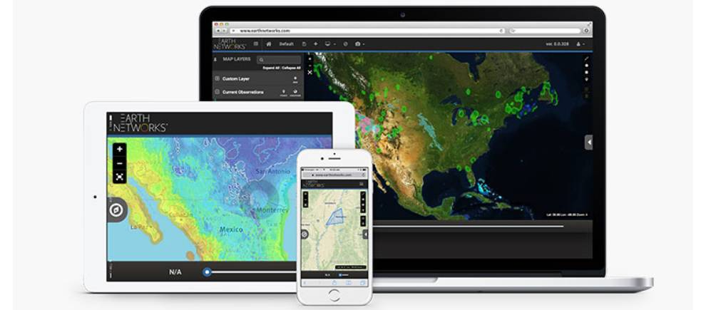 Get weather data including hourly forecasting with Earth Networks Sferic API