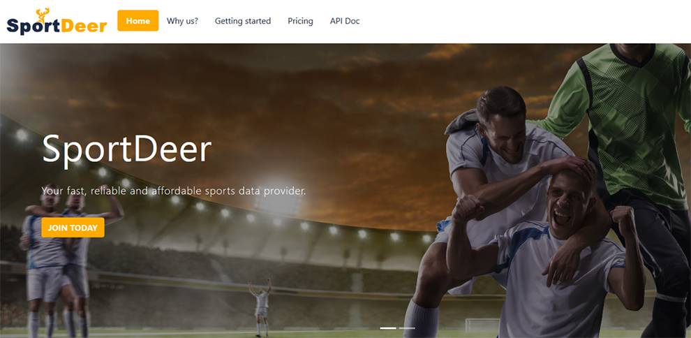 SportDeer API is for live football stats data  - sportdeer - Daily API RoundUp: Google, Turn, SerpWow, Install IPA, Cryptopia
