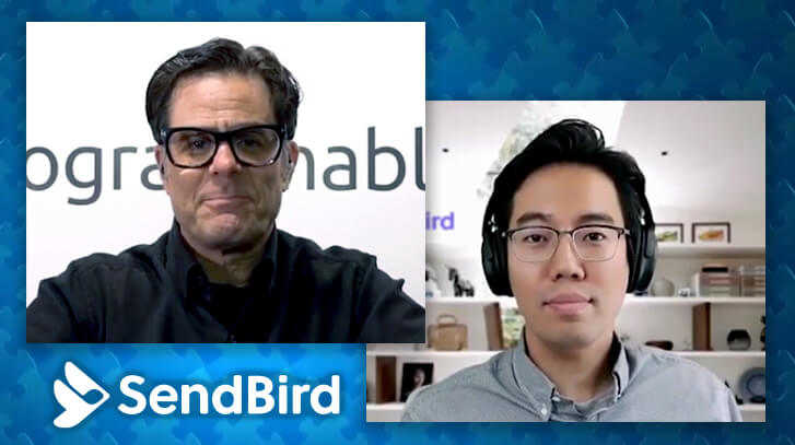 John Kim, CEO and co-founder of SendBird