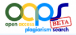 Open Access Plagiarism Search