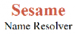 Sesame Name Resolver